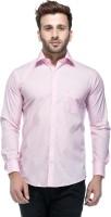 Tinted Formal Shirts (Men's) - Tinted Men's Solid Formal Pink Shirt