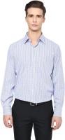 Upbeat Formal Shirts (Men's) - Upbeat Men's Checkered Formal White Shirt