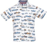 Tickles By Inmark Boys Printed Casual Wh...