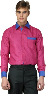 MNW Men's Solid Casual Red Shirt