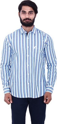 US Designs Men's Striped Casual Multicolor Shirt