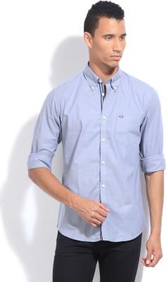 Arrow Sport Men's Solid Casual Grey Shirt
