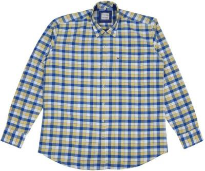 Esoft Men's Checkered Casual Multicolor Shirt