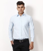 Yuva Formal Shirts (Men's) - Yuva Men's Solid Formal Light Blue Shirt