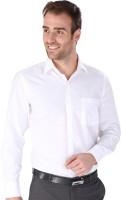 Magson Elite Formal Shirts (Men's) - Magson Elite Men's Solid Formal White Shirt