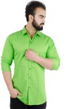 Henry Club Men's Solid Casual Light Gree...