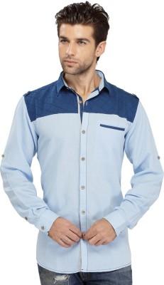 SEVEN STITCHES Men's Solid Casual Multicolor Shirt