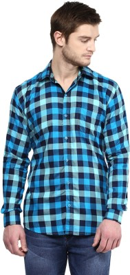 Rodamo Men,s Checkered Casual Multicolor Shirt