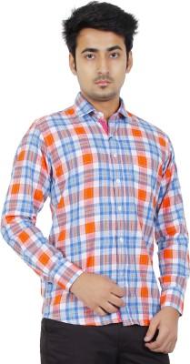 Crocks Club Men's Checkered Casual Multicolor Shirt