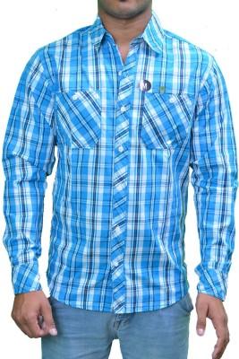 Ficuster Men's Checkered Casual Multicolor Shirt