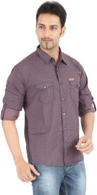 Spykar Men's Printed Casual Multicolor Shirt