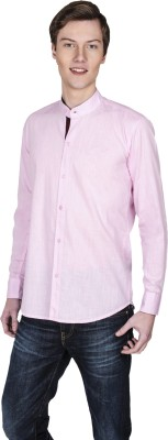 Poker Dreamz Men's Solid Casual Pink Shirt