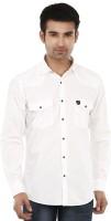 Lamode Formal Shirts (Men's) - LaMode Men's Solid Formal White Shirt