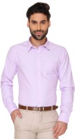 Markrich Formal Shirts (Men's) - MARKRICH Men's Solid Formal Purple Shirt