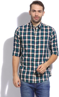 Arrow Sport Men's Checkered Casual Multicolor Shirt