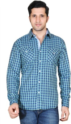 Denimize Men's Checkered Casual Multicolor Shirt