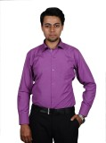 The Mods Men's Solid Casual Purple, Pink...