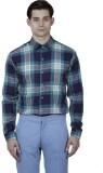 Baba Rancho Men's Checkered Casual Blue ...