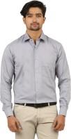 Appayes Formal Shirts (Men's) - Appayes Men's Solid Formal Grey Shirt