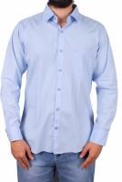 Gasconade Formal Shirts (Men's) - Gasconade Men's Solid Formal Light Blue Shirt