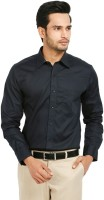 Badstreet Boys Formal Shirts (Men's) - Badstreet Boys Men's Solid Formal Dark Blue Shirt