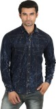 Caddy Cark Men's Solid Casual Denim Dark...