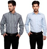 Flutter Men's Striped Formal Multicolor ...