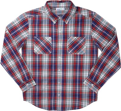 ShopperTree Boy's Checkered Casual Multicolor Shirt