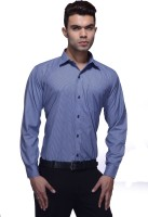 Jads Formal Shirts (Men's) - Jads Men's Checkered Formal Blue Shirt