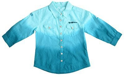Pure Nautanki Girl's Solid Casual Multicolor Shirt