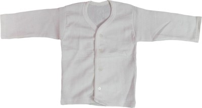 Mankoose Boy's Solid Casual White Shirt