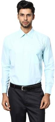 Shaftesbury London Men's Striped Casual Green Shirt