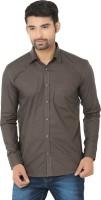Masculine Affair Formal Shirts (Men's) - Masculine Affair Men's Solid Formal Grey Shirt