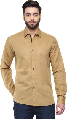Cairon Men's Solid Casual Shirt