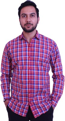 US Club Men's Checkered Casual Multicolor Shirt