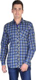 Fuego Men's Checkered Casual Multicolor ...