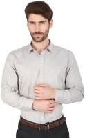 Big Tree Formal Shirts (Men's) - Big Tree Men's Striped Formal Grey Shirt