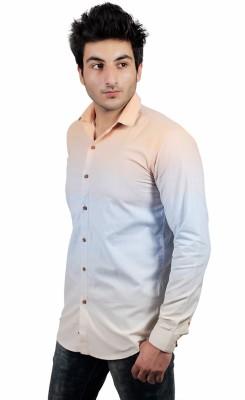 UNDERCUT Men's Self Design Casual Multicolor Shirt