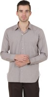 Roar And Growl Formal Shirts (Men's) - Roar and Growl Men's Solid Formal Brown Shirt