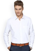 Tt Formal Shirts (Men's) - TT Men's Solid Formal White Shirt