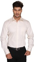 Blacksmith Formal Shirts (Men's) - Blacksmith Men's Solid Formal Beige Shirt
