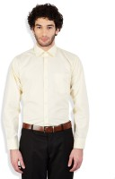 Arihant Formal Shirts (Men's) - Arihant Men's Solid Formal Beige Shirt