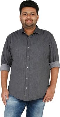 CIROCO Men's Checkered Casual Black Shirt