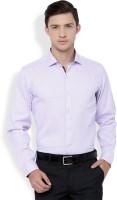Mark Taylor Formal Shirts (Men's) - Mark Taylor Men's Solid Formal Purple Shirt