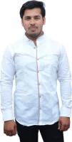 Cottonavenue Formal Shirts (Men's) - CottonAvenue Men's Solid Formal White Shirt