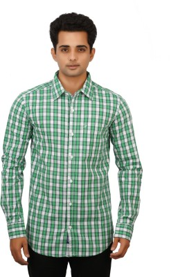 Hunter Men's Checkered Casual Multicolor Shirt