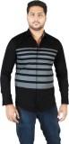 Qdesigns Men's Solid Casual Black Shirt