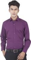 Edenelliot Formal Shirts (Men's) - EdenElliot Men's Solid Formal Purple Shirt
