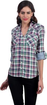 Charisma Women's Checkered Casual Multicolor Shirt