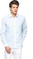 Pret A Porter Formal Shirts (Men's) - Pret a Porter Men's Solid Formal Blue Shirt